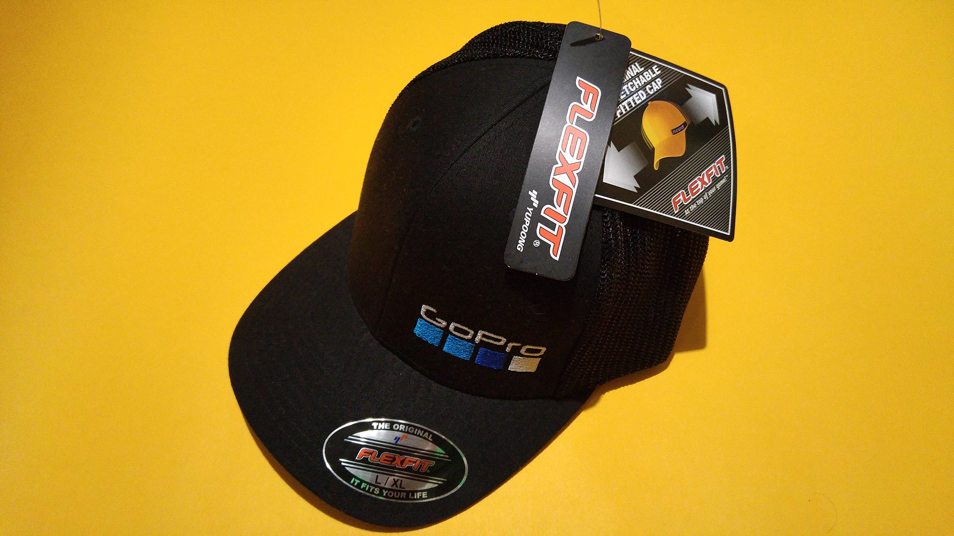 944bf14ddfa GoPro Be a Hero Flexfit fitted baseball cap hat